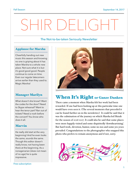 Shir Delight Sept. 2017 cover